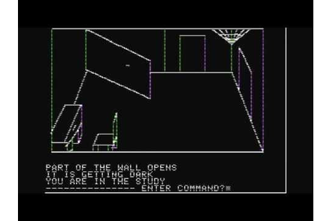 Playthrough: Mystery House (1980, Apple II) PC - YouTube
