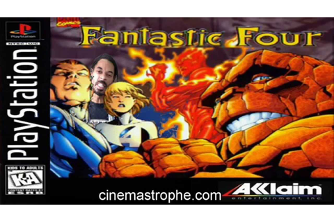Fantastic Four PS1 game review part 1/2 - YouTube