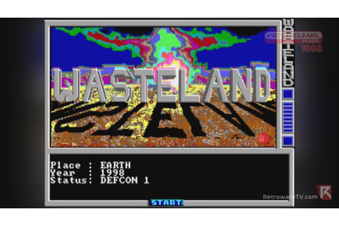 Wasteland (PC, 1988) - Video Game Years History - YouTube