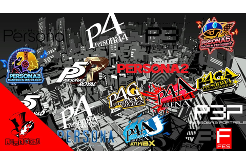 All Persona Game and Anime Openings (1996 - 2019 ...