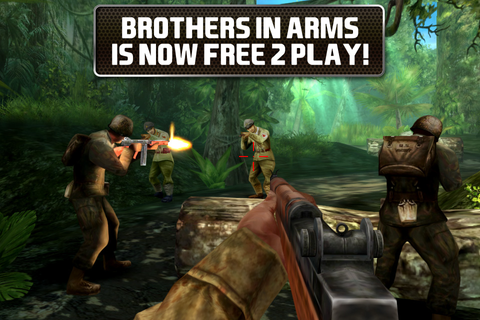 Brothers In Arms® 2: Global Front Free+ | iPhone Adventure ...