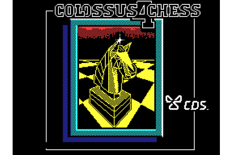 Colossus Chess 4 (1986) by CDS Software ZX Spectrum game