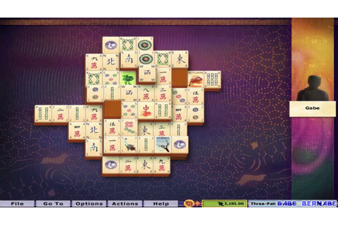Hoyle Puzzle Games 2005 - Mahjong Tiles (Complete Gameplay ...