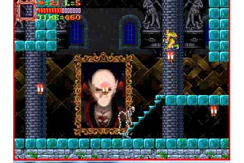 Super Castlevania 3- Fan Game - Dracula's Keep Minor ...