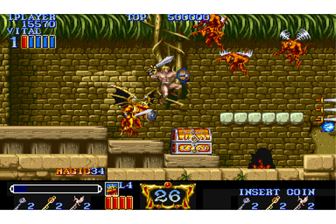 Magic Sword: Heroic Fantasy (World 900725) ROM Download ...