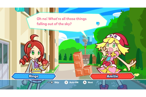 How 'Puyo Puyo Tetris' tricked me into liking puzzle games ...