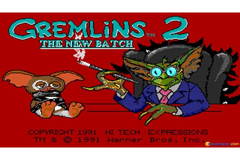 Gremlins 2: The New Batch (Hi Tech version) gameplay (PC ...