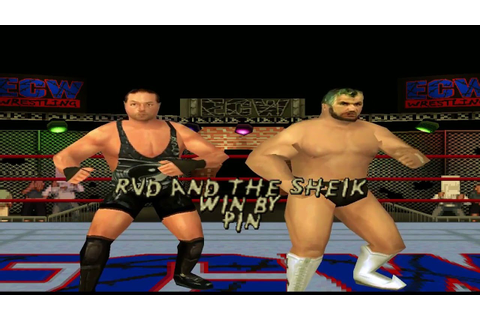 ECW Hardcore Revolution - Part 5 - Career Mode With Rob ...