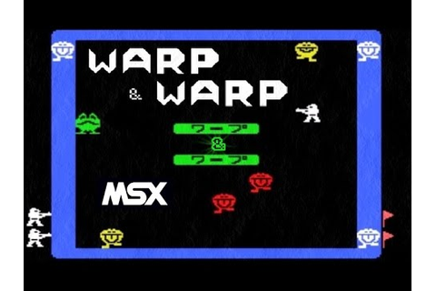 Warp & Warp MSX Retro Game - YouTube