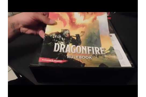 Dragonfire (Catalyst Game Labs) Unboxing by Logan Chops ...