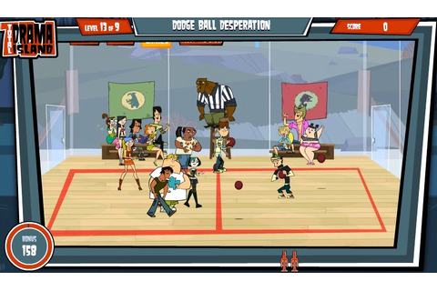 Total Drama Island Dodgeball Games