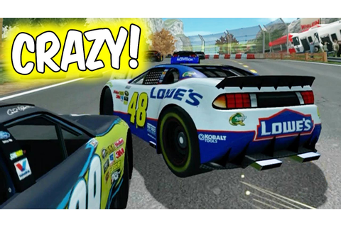 THE WEIRDEST NASCAR GAME EVER! // NASCAR Unleashed Funny ...