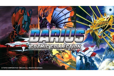 Darius Cozmic Collection coming to Nintendo Switch in 2019 ...