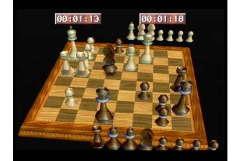 Virtual Chess 64 - Full Game #1 (Titus/N64) - YouTube