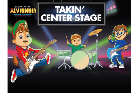 Alvinnn!!! And The Chipmunks: Takin' Center Stage Music ...