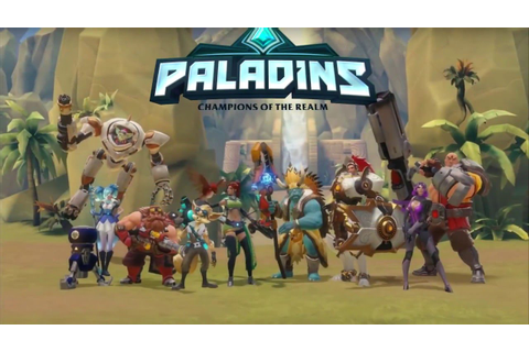 Paladins : Champions of the Realm - All Classes Gameplay ...