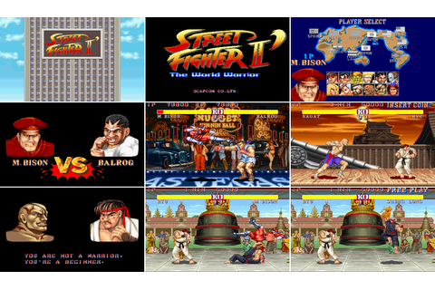 Street Fighter II Fan Game WIP