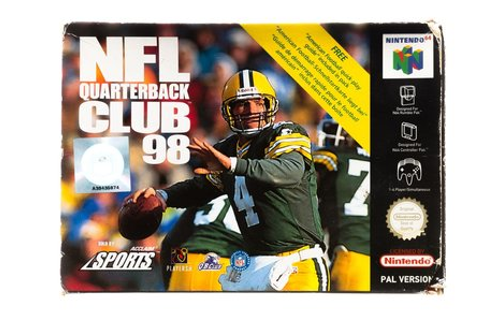 NFL Quarterback Club 98 - Nintendo 64 [N64] Game Compleet ...