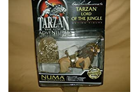 Amazon.com: Tarzan-The Epic Adventures-Tarzan Lord of the ...