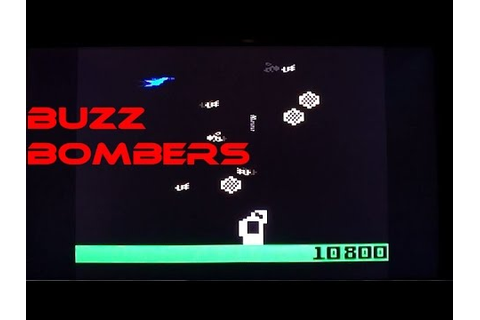 Buzz Bombers on the Intellivision - gameplay & commentary ...