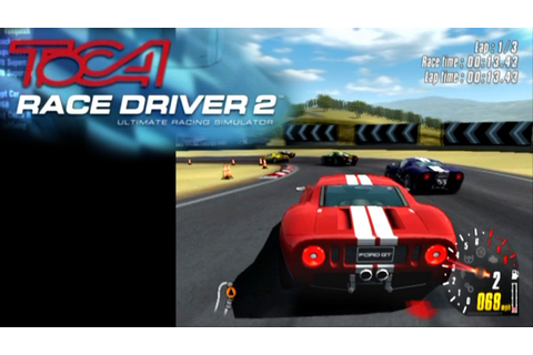 TOCA Race Driver 2 ... (PS2) - YouTube