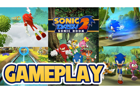 Sonic Dash 2 : Sonic Boom Gameplay (New Mobile Sonic Game ...