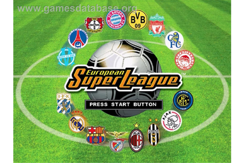 European Super League - Sega Dreamcast - Games Database