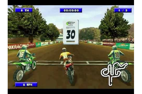 Championship Motocross 2001 Featuring Ricky Carmichael ...