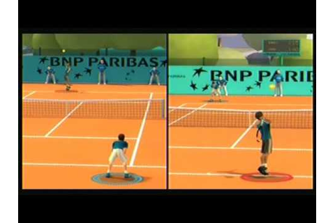 Playset - Grand Chelem Tennis - YouTube