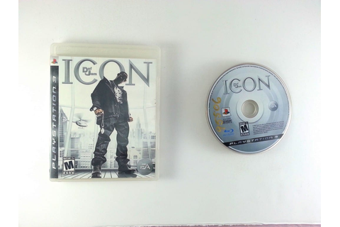 Def Jam Icon game for Playstation 3 | The Game Guy