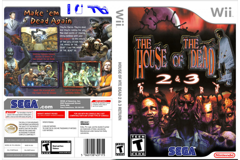 The House of the Dead 2 & 3 Return | Sega Wiki | FANDOM ...