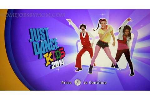 Wii U Games: Just Dance Kids 2014 Review | Home Jobs by MOM
