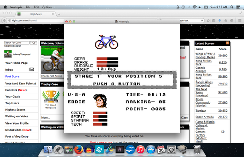 Cycle Race: Road Man [100% Complete] (NES/Famicom Emulated ...