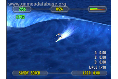 Championship Surfer - Sony Playstation - Games Database