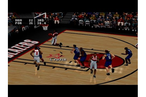 NBA Live 2001 Gameplay Exhibition Mode (PlayStation) - YouTube