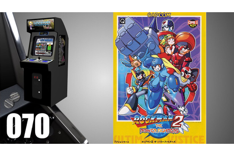 Mega Man 2: The Power Fighters [070] Arcade Longplay ...
