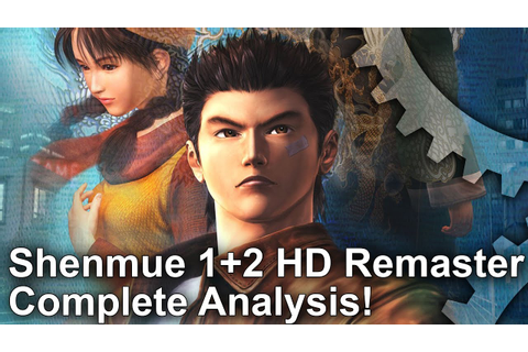 Shenmue 1+2 HD Remaster: The Ultimate Version - PS4 Pro ...