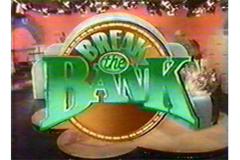 Break the Bank (1985 game show) - Wikipedia