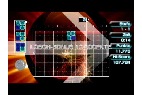 Lumines II - Gameplay - PSP - YouTube