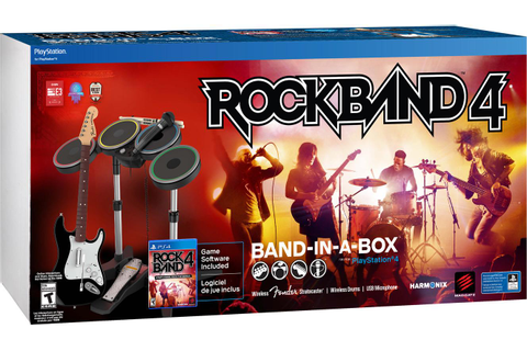 Ps4 Rock Band 4 Band In A Box (end 12/22/2017 7:55 PM)