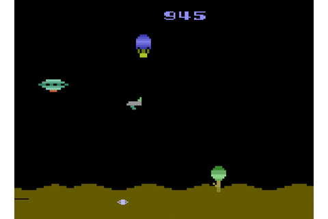 Game review: U.S. Games' Space Jockey for #Atari 2600 ...