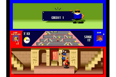 Bonanza Bros (Arcade Game) - YouTube