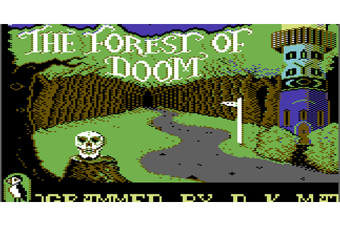 The CRPG Addict: Game 179: The Forest of Doom (1984)