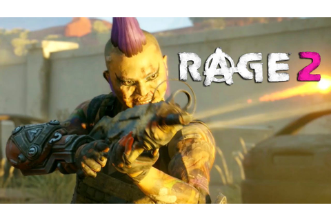 RAGE 2 - Official Gameplay Trailer - YouTube