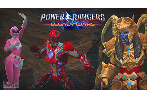 Power Rangers: Legacy Wars - Best Power Rangers Fighting ...