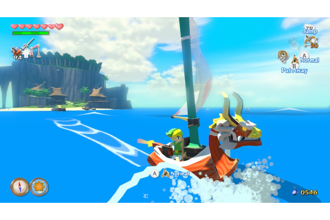The Legend of Zelda: The Wind Waker HD (Wii U) Screenshots