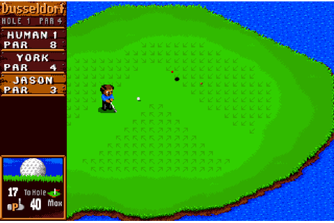 Sensible Golf - The Company - Classic Amiga Games