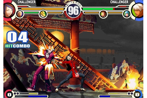 games torrent Ps2 e Ps3: The King of Fighters XI (PS2)