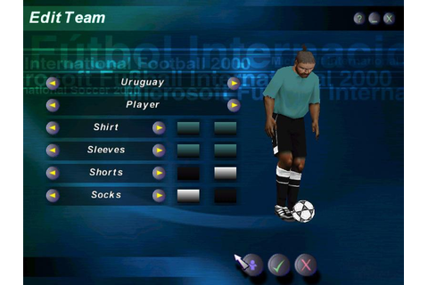 Microsoft International Football 2000 (a.k.a. Microsoft ...