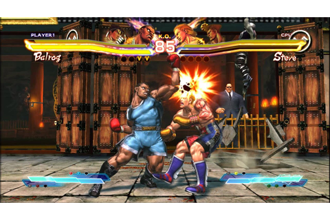 Street Fighter X Tekken Gameplay (PC HD) - YouTube